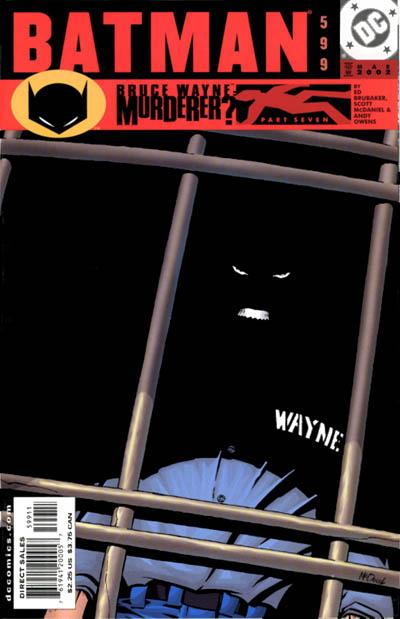 Cover for Batman (DC, 1940 series) #599