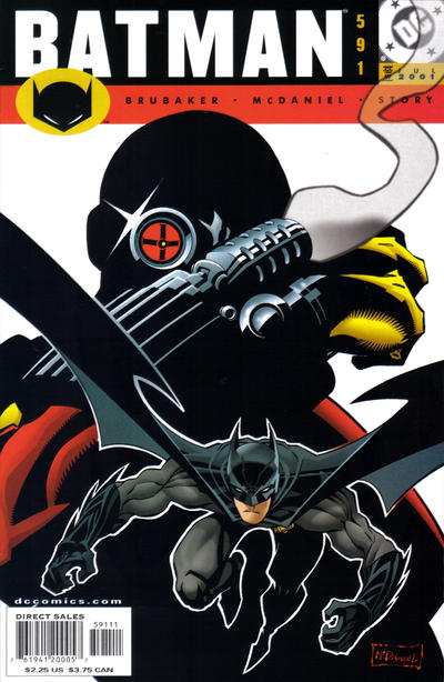 Cover for Batman (DC, 1940 series) #591