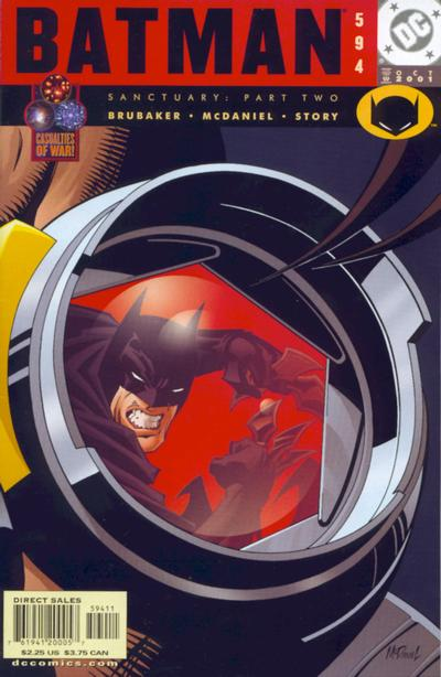 Cover for Batman (DC, 1940 series) #594