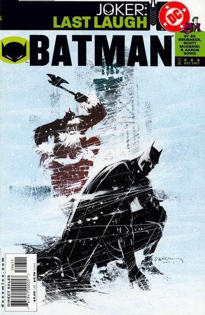 Cover for Batman (DC, 1940 series) #596