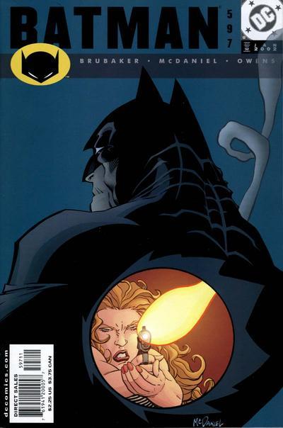 Cover for Batman (DC, 1940 series) #597