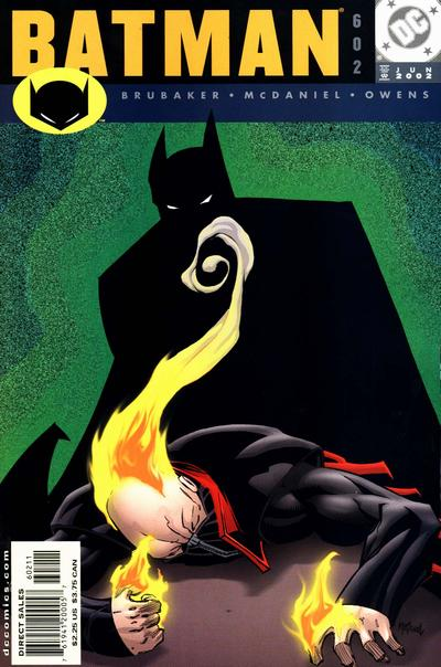Cover for Batman (DC, 1940 series) #602