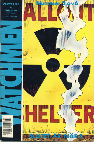 Cover for Watchmen (Semic, 1987 series) #2/1987