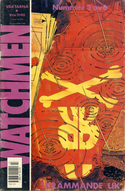 Cover for Watchmen (Semic, 1987 series) #3/1987