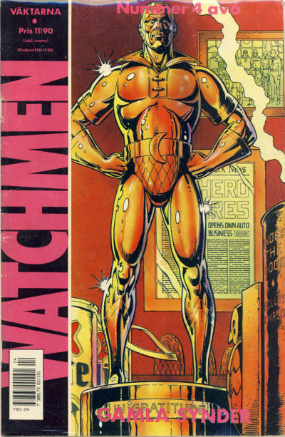 Cover for Watchmen (Semic, 1987 series) #4/1987