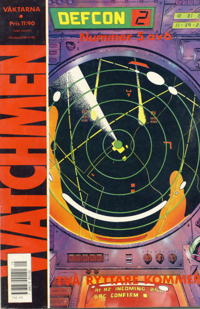 Cover for Watchmen (Semic, 1987 series) #5/1987