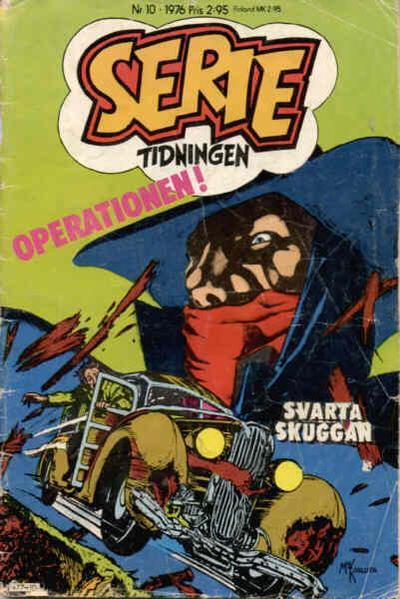 Cover for Serietidningen (Semic, 1976 series) #10/1976