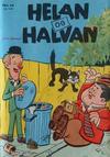 Cover for Helan og Halvan (Illustrerte Klassikere / Williams Forlag, 1963 series) #14
