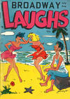 Cover for Broadway Laughs (Prize, 1950 series) #v10#8