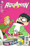Cover for Aquaman (DC, 2011 series) #42 [Teen Titans Go! Cover]