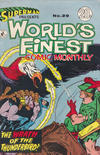 Cover for Superman Presents World's Finest Comic Monthly (K. G. Murray, 1965 series) #29