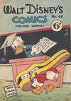 Cover for Walt Disney's Comics (W. G. Publications; Wogan Publications, 1946 series) #48