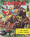 Cover for Gordon (Edizioni Fratelli Spada, 1964 series) #7