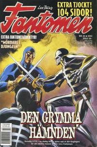 Cover Thumbnail for Fantomen (Egmont, 1997 series) #22/2003