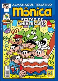 Cover Thumbnail for Almanaque Temático (Panini Brasil, 2007 series) #10 - Mônica: Festas de Aniversário