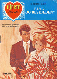 Cover Thumbnail for Hjerterevyen (Serieforlaget / Se-Bladene / Stabenfeldt, 1960 series) #10/1979