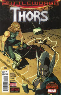 Cover Thumbnail for Thors (Marvel, 2015 series) #2