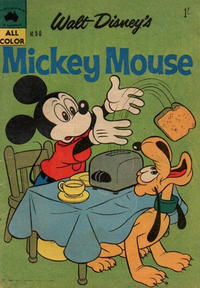 Cover Thumbnail for Walt Disney's Mickey Mouse (W. G. Publications; Wogan Publications, 1956 series) #50