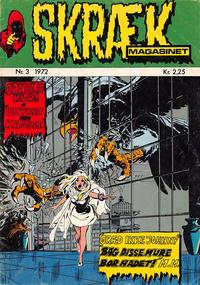 Cover Thumbnail for Skrækmagasinet (Williams, 1972 series) #3/1972