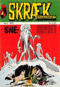 Cover Thumbnail for Skrækmagasinet (Williams, 1972 series) #5/1972
