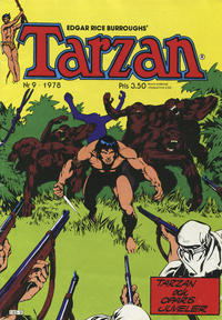 Cover Thumbnail for Tarzan (Atlantic Förlags AB, 1977 series) #9/1978