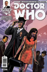 Cover Thumbnail for Doctor Who: The Twelfth Doctor (Titan, 2014 series) #9 [Regular Cover]