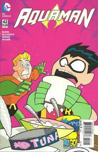 Cover Thumbnail for Aquaman (DC, 2011 series) #42 [Teen Titans Go! Cover]