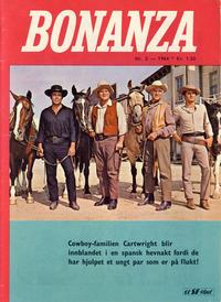 Cover Thumbnail for Bonanza (Serieforlaget / Se-Bladene / Stabenfeldt, 1964 series) #2/1964