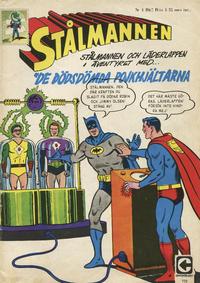 Cover Thumbnail for Stålmannen (Centerförlaget, 1949 series) #4/1967