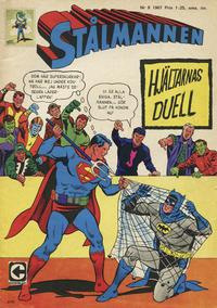 Cover Thumbnail for Stålmannen (Centerförlaget, 1949 series) #8/1967