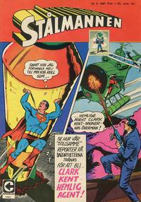 Cover Thumbnail for Stålmannen (Centerförlaget, 1949 series) #9/1967