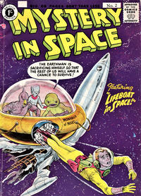Cover Thumbnail for Mystery in Space (Thorpe & Porter, 1958 ? series) #2