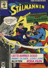 Cover Thumbnail for Stålmannen (Centerförlaget, 1949 series) #2/1968