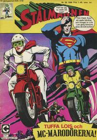 Cover Thumbnail for Stålmannen (Centerförlaget, 1949 series) #20/1968