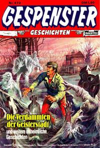 Cover Thumbnail for Gespenster Geschichten (Bastei Verlag, 1974 series) #479