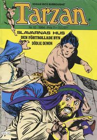 Cover Thumbnail for Tarzan (Atlantic Förlags AB, 1977 series) #10/1984