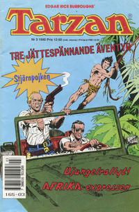 Cover Thumbnail for Tarzan (Atlantic Förlags AB, 1977 series) #3/1990