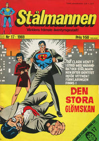 Cover Thumbnail for Stålmannen (Williams Förlags AB, 1969 series) #17/1969