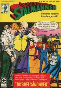 Cover Thumbnail for Stålmannen (Centerförlaget, 1949 series) #9/1969