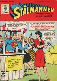 Cover Thumbnail for Stålmannen (Centerförlaget, 1949 series) #13/1969