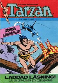 Cover Thumbnail for Tarzan (Atlantic Förlags AB, 1977 series) #9/1983