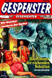 Cover Thumbnail for Gespenster Geschichten (Bastei Verlag, 1974 series) #502