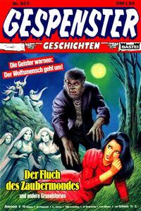 Cover Thumbnail for Gespenster Geschichten (Bastei Verlag, 1974 series) #503