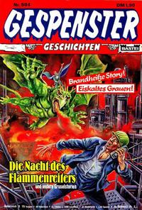Cover Thumbnail for Gespenster Geschichten (Bastei Verlag, 1974 series) #504