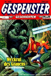 Cover Thumbnail for Gespenster Geschichten (Bastei Verlag, 1974 series) #509