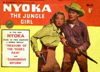 Cover Thumbnail for Nyoka the Jungle Girl (Cleland, 1949 series) #5