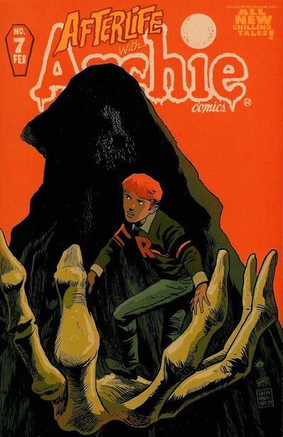 Cover for Afterlife with Archie (Archie, 2013 series) #7 [Francesco Francavilla Cover]