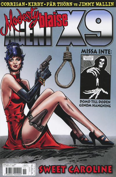 Cover for Agent X9 (Egmont, 1997 series) #11/2013