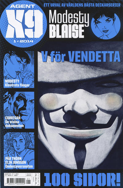 Cover for Agent X9 (Egmont, 1997 series) #1/2014