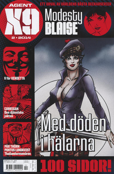 Cover for Agent X9 (Egmont, 1997 series) #2/2014